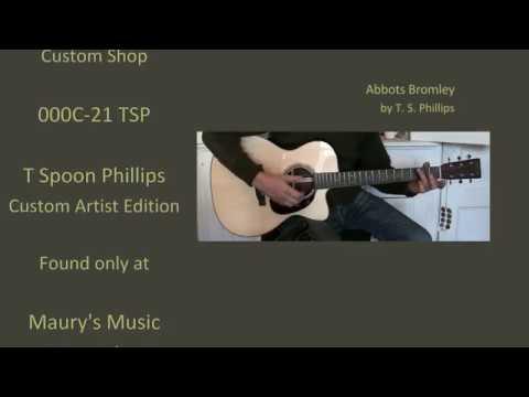Martin 000C-21 TSP Custom Artist Edition at Maury's Music