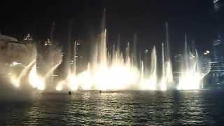 Dubai Fountain HD - Thriller Michael Jackson