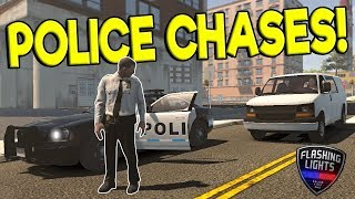 new model update police chase flashing lights early access gameplay police simulator