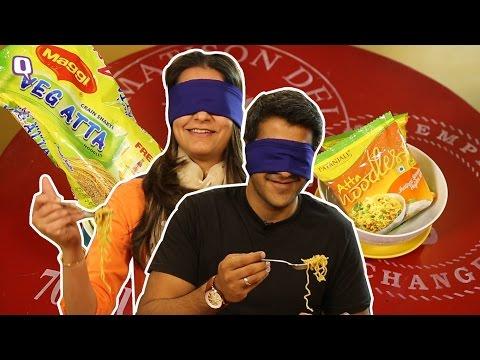 Maggi vs Patanjali Noodles: Taking The Blindfolded Taste Challenge