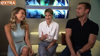 Shailene Woodley and Theo James Spill Details on 'Insurgent,' Pick Super Powers