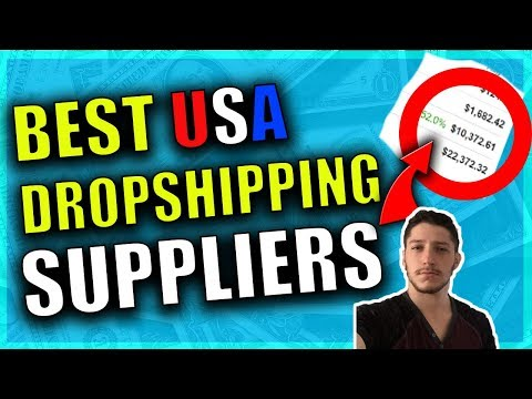 The Best US Dropshipping Suppliers For Your Dropshipping Business (eBay, Amazon, Shopify)