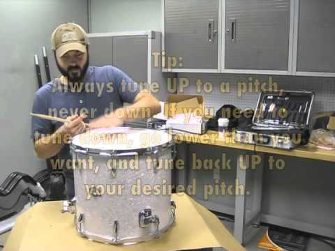 The Art of Tuning Drums - How to Tune Your Custom Drum Set - Toms