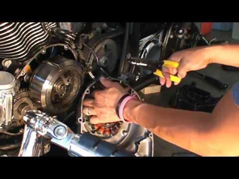 2001 Kawasaki Vulcan 1500 Wiring Diagram Free Picture 2007 Kawasaki Vulcan 900 Classic Lt Stator Removal Youtube