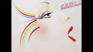 Samantha Gilles - Let Me Feel It (Y)