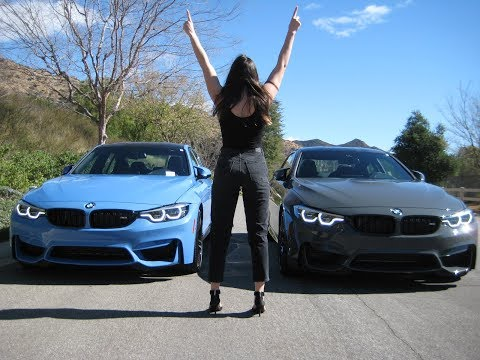 """2018 BMW M4 vs M3 / Exhaust Sound / 20"""" M Wheels / Competition Package  / BMW Review"""