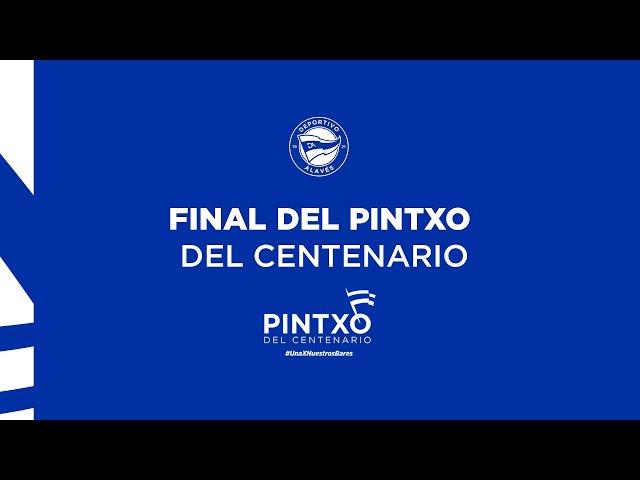 🎥 El resumen de la final del 'Pintxo del Centenario' 😋