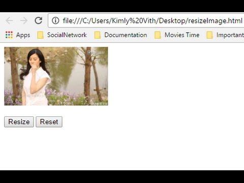 resize image using javascript easy easy
