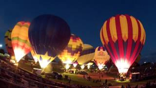 Colorado River Crossing Hot Air Balloon Glow