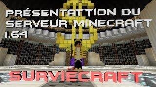 Serveur minecraft 1.6.4 Pvp/Factions [Cracké accepté-SurvieCraft]