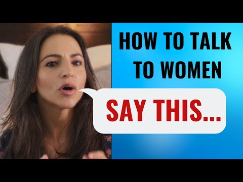 "THIS Is How To Talk To Girls And ""Spark"" Attraction (Works EVERY Time) 