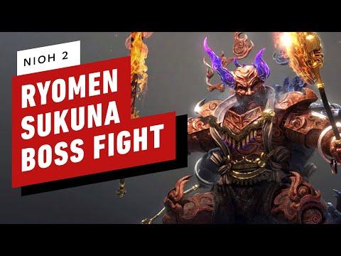 Nioh 2 - Last Chance Trial Ryomen Sukuna Boss Fight