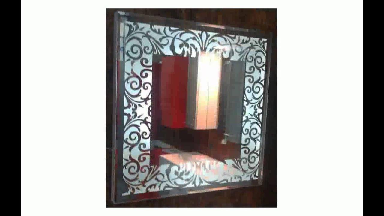 Зеркало в ванную комнату с подсветкой - YouTube