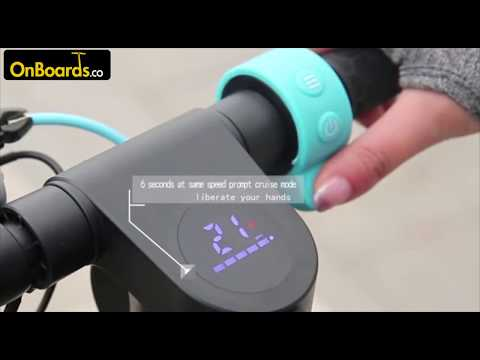 ELECTRIC SCOOTER - ONBOARDS X7 - Review