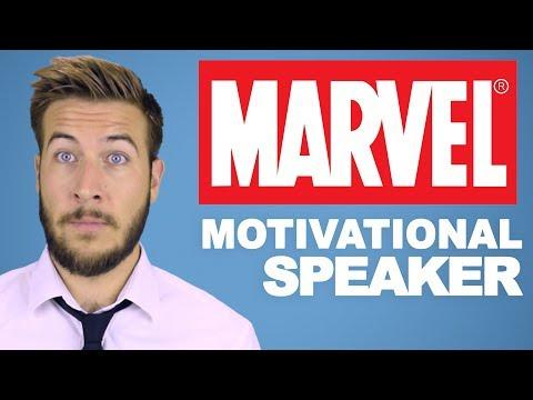 Being a Motivational Speaker in the MCU Sucks