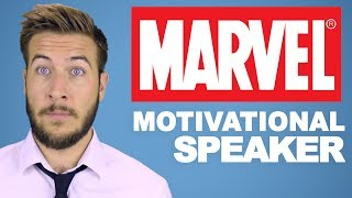 Being a Motivational Speaker in the MCU Sucks