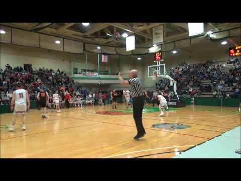 Joseph Girard III of Glens Falls 60 point Sectional game 2/23/18