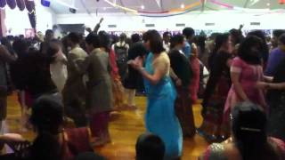 Gandhi hall garba 2011 Auckland day 4-video 4/19