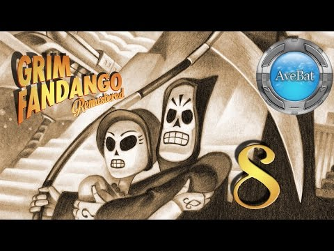 Grim Fandango Remastered part 8 V.I.P. pass for High Roller's Lounge