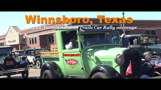 Antique & Classic Car parade & show coverage with Samspace81, Winnsboro, Texas