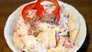 Thunfischsalat mit Nudeln