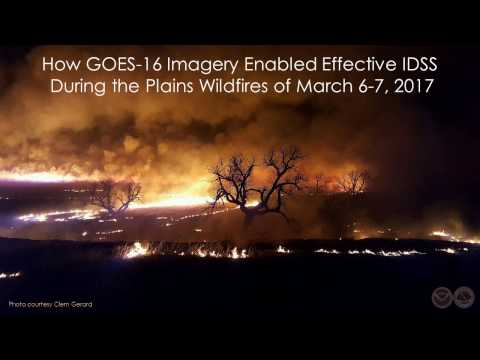 Using GOES-16 to Enhance Wildfire IDSS