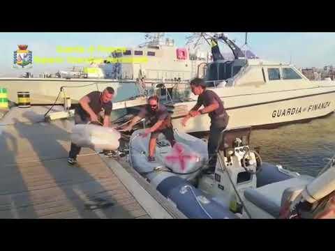 Brindisi, kapen mbi 500 kg marijuanë - Top Channel Albania - News - Lajme