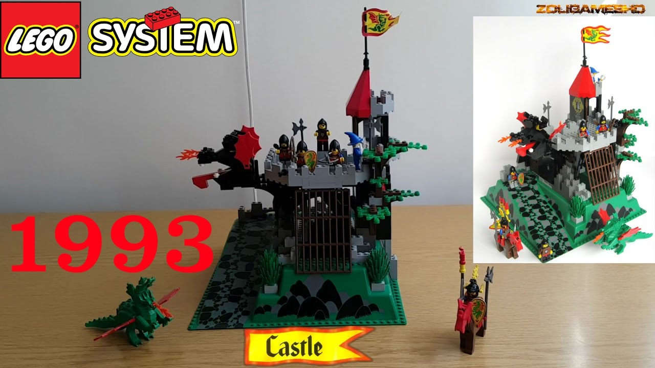 lego castle 6082 fire breathing fortress 1993 review. Black Bedroom Furniture Sets. Home Design Ideas