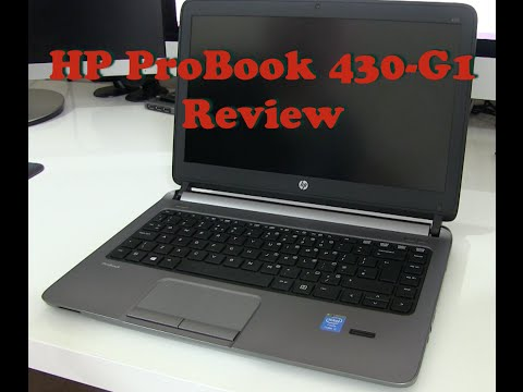 Hewlett-Packard HP Probook 430 Review
