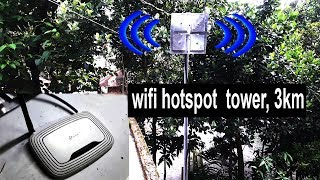 Wifi Hotspot TOWER!! 3 km Area Coverage!!Ruter Extanal Antina