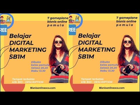 Belajar Digital Marketing lkelas Bisnis Online saat ini ...