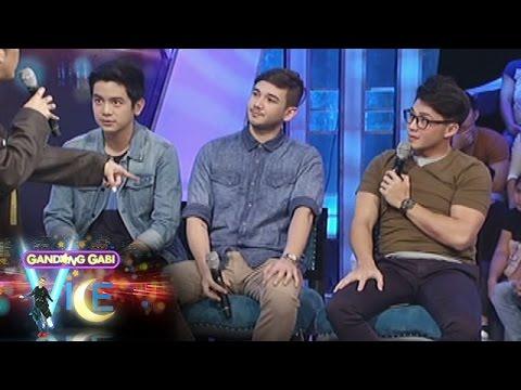 GGV: Matt, Arron, & Joshua exchange characters