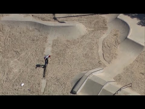 California City's Attempt To Thwart Kids by Dumping Sand in Skatepark Backfires When Dirt Bike Riders Show Up