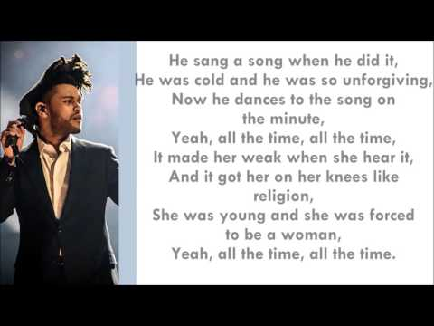 The Weeknd   In The Night Lyrics