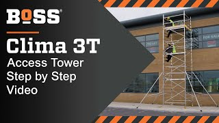 Setting up a BoSS Clima 3T Mobile Access Tower