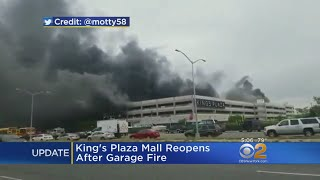 Kings Plaza Garage Reopens After Fire