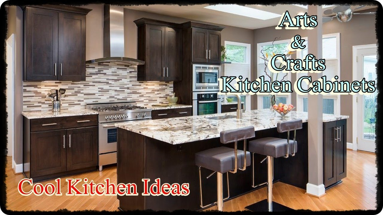 Mission Style Kitchen Cabinets   Arts And Crafts Kitchen Decor
