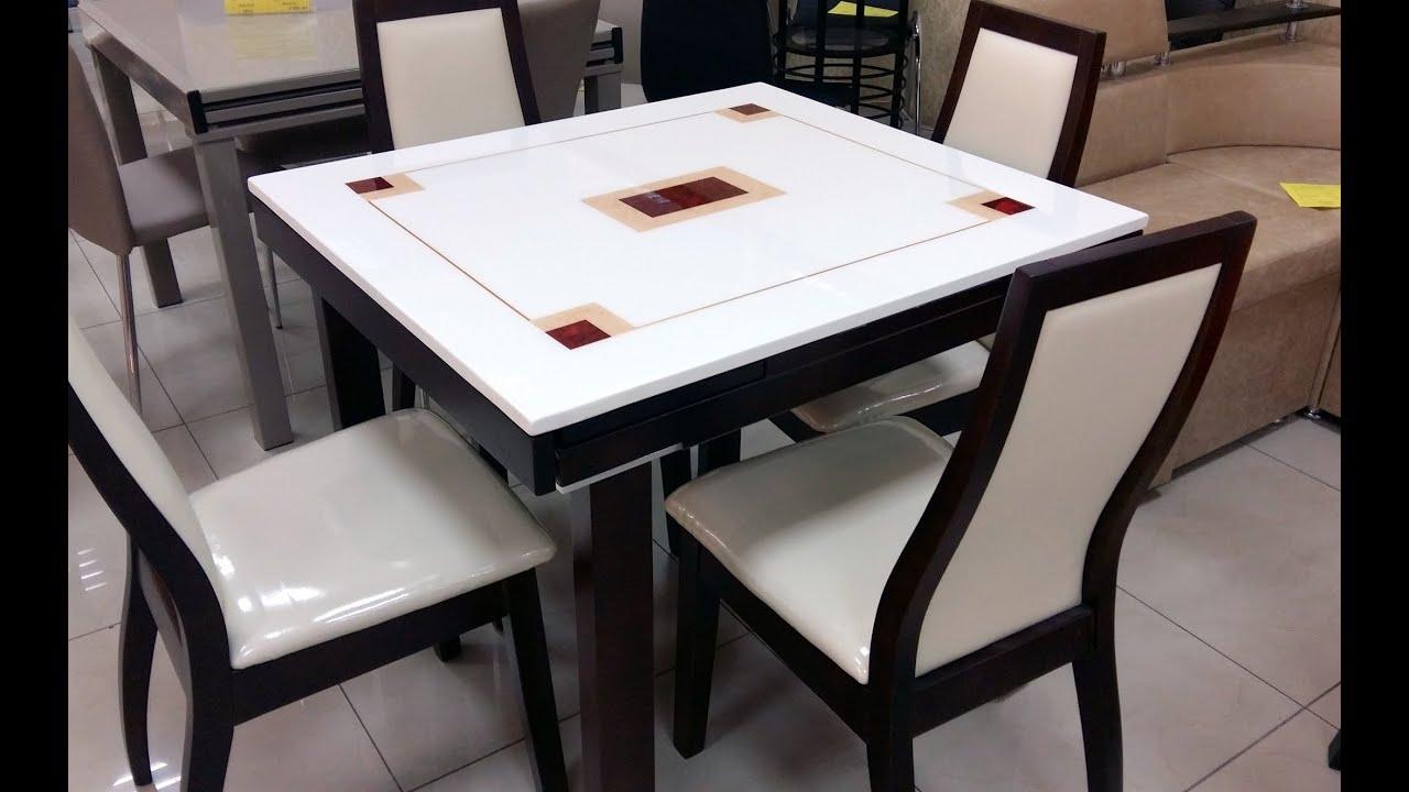 Резной, раскладной, деревянный, обеденный стол из массива, ручной .
