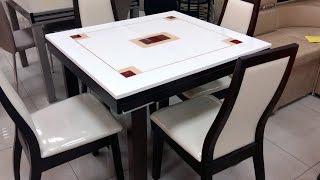 Стол кухонный раскладной со столешницей из искусственного камня ZH-878-RED + стулья(Стол кухонный раскладной со столешницей из искусственного камня ZH-878-RED + стулья ZH-042-BC. Стол кухонный расклад..., 2016-09-19T09:32:53.000Z)