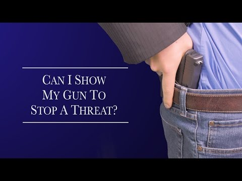 concealed carry how to traffic stop