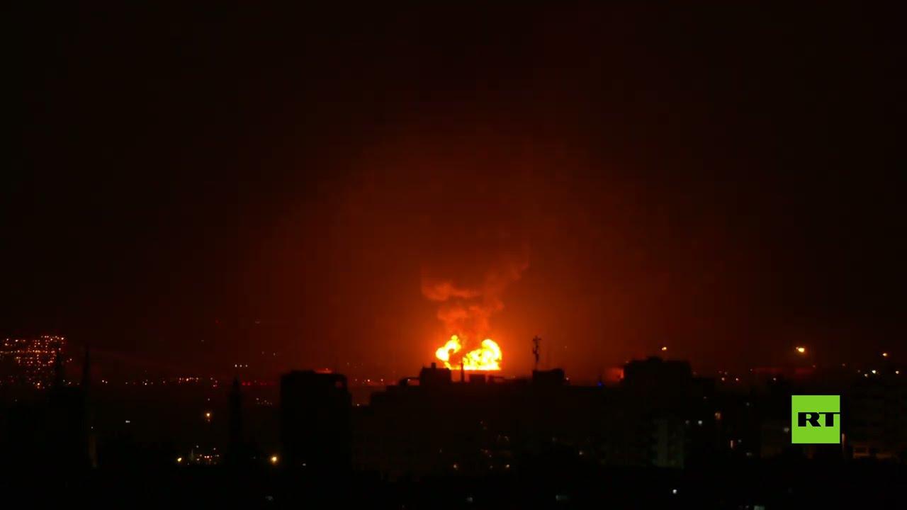 اندلاع حريق كبير في مصفاة النفط الإسرائيلية  - نشر قبل 2 ساعة