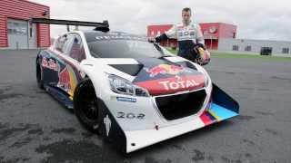 Kris Meeke tests Peugeot 208 T16 Pikes Peak | Top Gear
