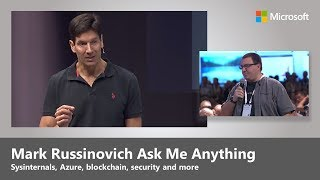 Ask me anything, with Mark Russinovich on cloud, Sysinternals, security, and more thumbnail