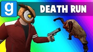 Gmod Deathrun Funny Moments - Zombie Map! (Garry's Mod Sandbox)