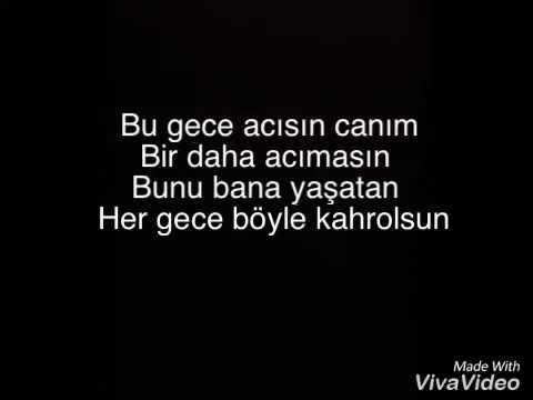 Buray-Sahiden Lyrics Şarkı Sözü