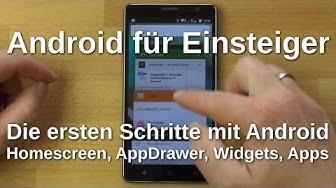 Android für Einsteiger: Apps, Startbildschirm, Widgets usw. (korrigierte Version)- www.technoviel.de