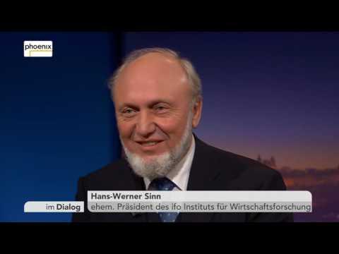 Im Dialog: Michael Krons im Gespräch mit Prof. Hans-Werner Sinn am 25.11.2016