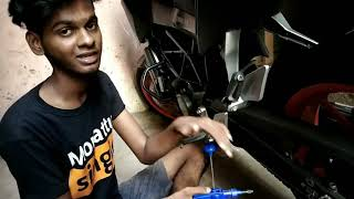 Chain maintaince ❤️ தமிழ் ❤️ chain lubing ❤️ tips for chain cleaning ❤️
