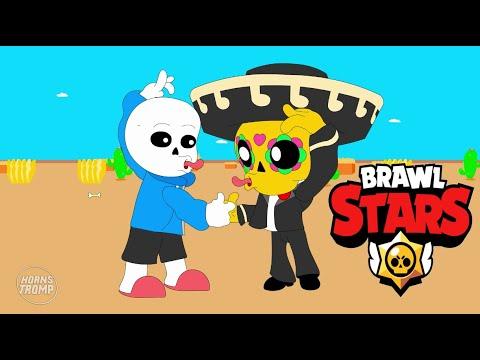 SANS & POCO - BRAWL STARS ANIMATION (Parody)
