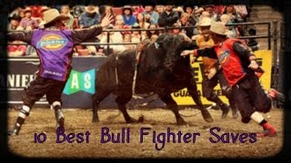 10 of the best bull fighter saves